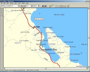 Conception Bay Map GPS