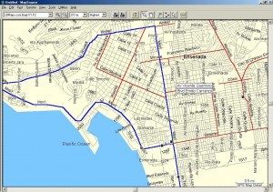 Ensenada Detail Map GPS