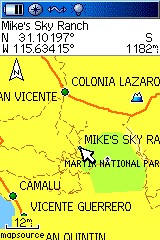 Vicente Guerrero Map GPS