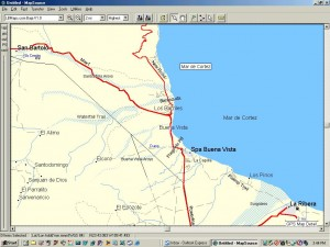 Los Barriles Map GPS